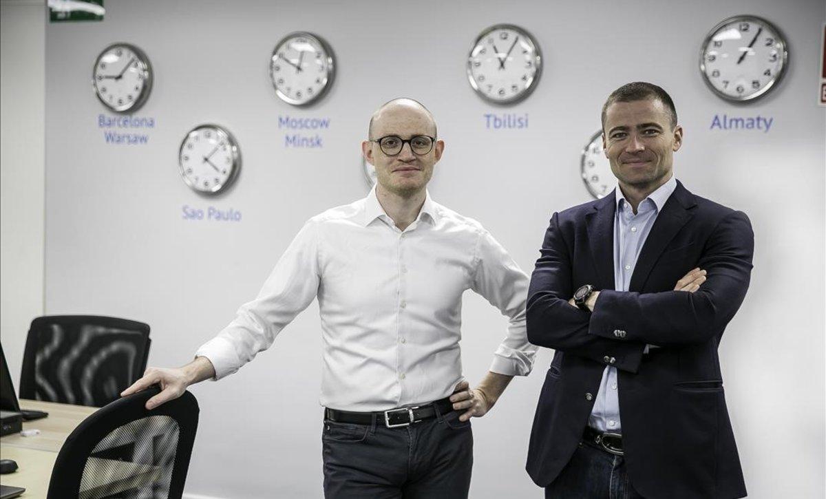 Alexander Dunaev y Boris Batine, fundadores de ID Finance