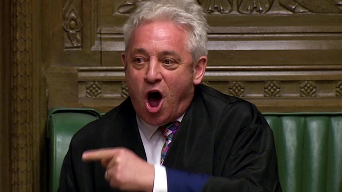 El president del Parlament britànic desafia Johnson
