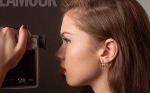 Stella del Carmen Banderas Griffith, en una de las fotos del reportaje.
