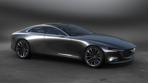 El Vision Coupe innova con un habitáculo situado hacia detrás.