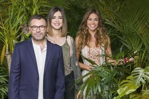 Los presentadores de Supervivientes, Jorge Javier Vázquez, Sandra Barneda y Lara Álvarez.