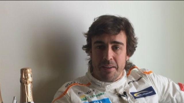 Fernando Alonso, optimista de cara a la temporada