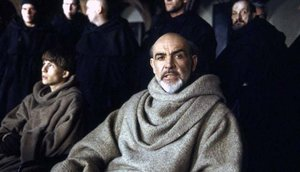 Connery fue el sagaz monje Guillermo de Baskerville en 'El nombre de la rosa'.