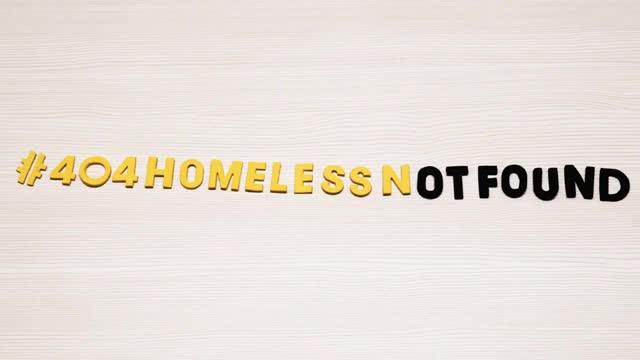 Vídeo promocional de #404HomelessNotFound,la nueva campaña del Centre dAcollidaAssís.