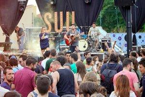 Actuación de la cantante Suu en el Festival Coordenades el verano pasado