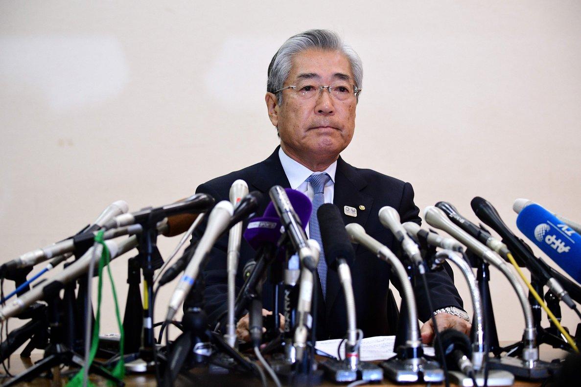 El presidente del Comité Olímpico de Japón (JOC), Tsunekazu Takeda.