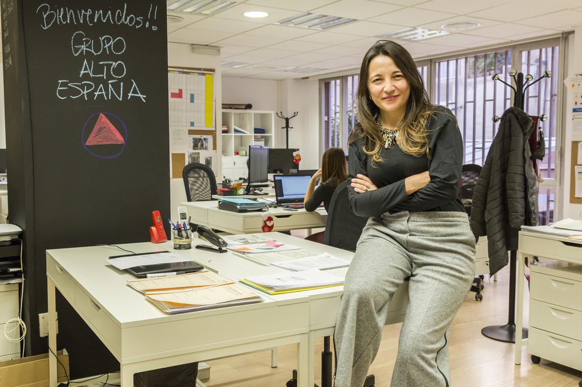 Alejandra Mardones, directora general de Alto España.