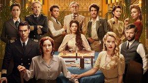 Los personajes de la segunda temporada de la serie de Netflix'Alta mar'.
