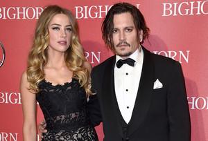 Johnny Depp y Amber Heard, el pasado enero en unagala en Palm Springs.