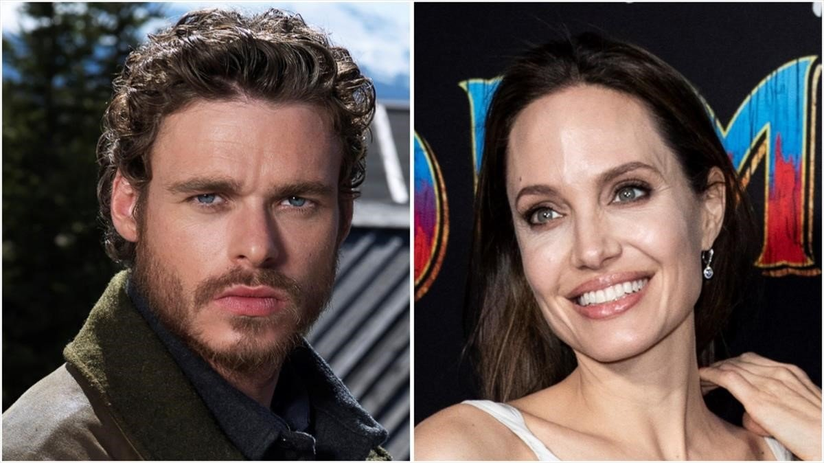 Angelina Jolie y Richard Madden.
