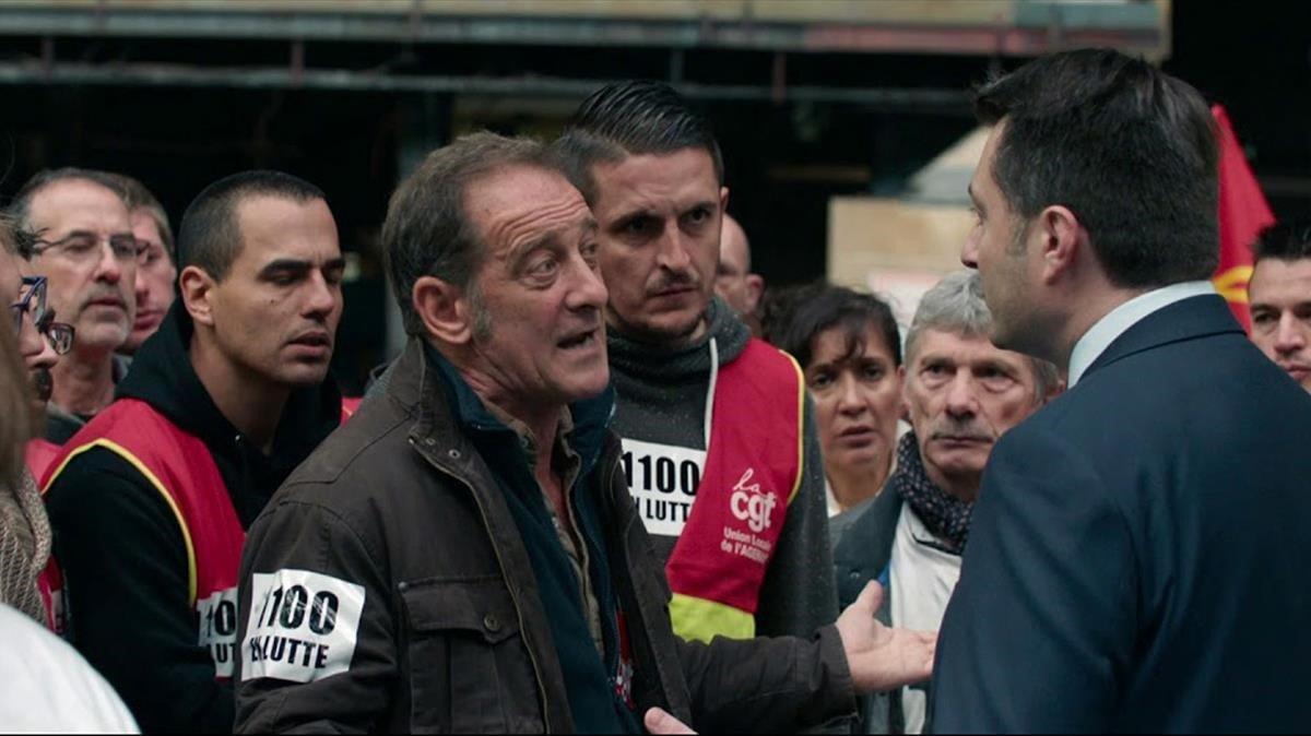 Fotograma de la película 'En guerre' de Stéphane Brizé.