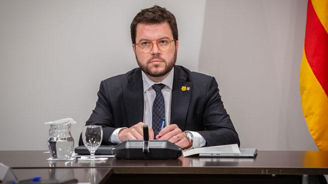 Aragonès proposa entrar en el capital d'empreses que rebin subvencions