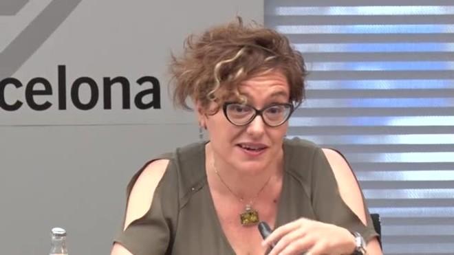 Declaraciones de la concejala Montse Ballarín.