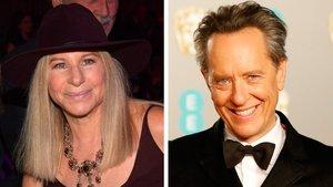 Barbra Streisand y Richard E. Grant.