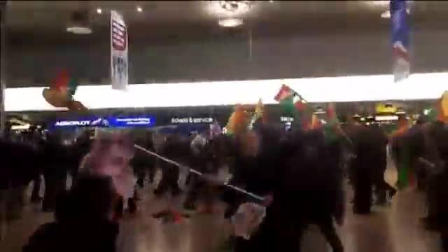 En la pelea se vieron envueltas hasta 180 personas que coincidieron en la terminal.