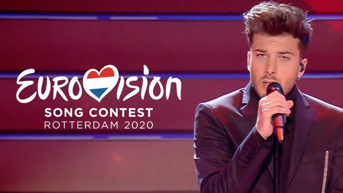 Blas Cantó, representante de España en Eurovisión 2020.