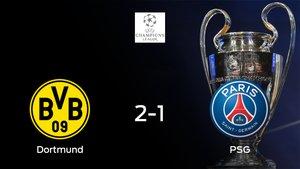 El Borussia Dortmund se pone por delante por 2-1 en la eliminatoria frente al París S. Germain