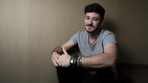 El cantante y compositor Luis Cepeda, el jueves, en Barcelona.