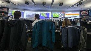 Centro de control en Florida.