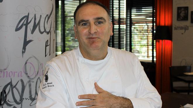 El chef José Andrés cree que tarde o temprano llegará a un acuerdo con Trump.