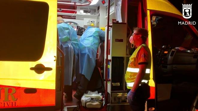 Cinco jóvenes heridos, dos muy graves, durante una reyerta en Carabanchel.