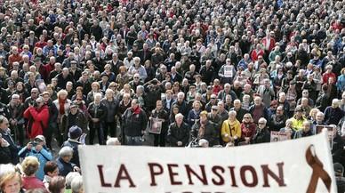 La izquierda insta a movilizarse en apoyo de los pensionistas