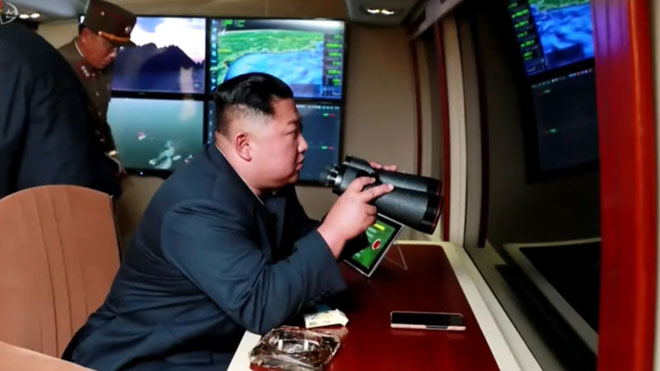 Corea del Norte dispara su tercer ensayo armamentístico en una semana.
