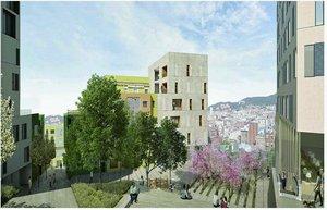 El barri de Fondo de Santa Coloma es transformarà amb la posada en marxa de la remodelació de l'Eix Bruc
