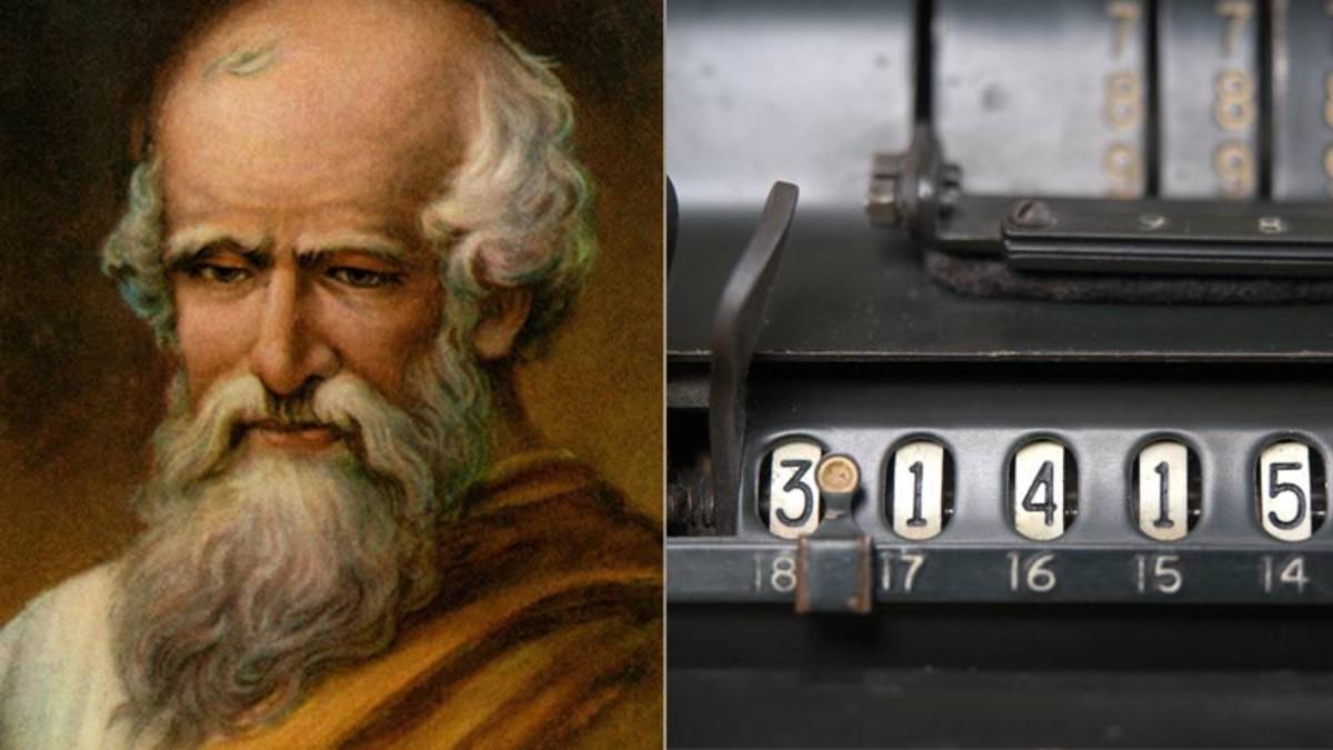 Arquímedes fue uno de los pioneros en determinar el valor del número pi.
