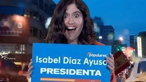 """La parodia de Isabel Díaz Ayuso en 'Late motiv' desde un """"atascazo"""": """"Quiero privatizar Madrid"""""""