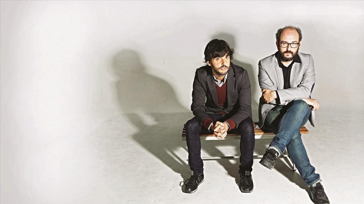 Diego San José y Borja Cobeaga, directores de Fe de etarras.