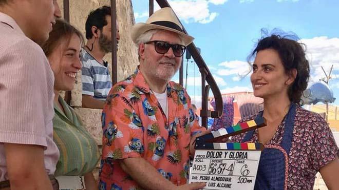 Dolor y gloria, la nueva película de Pedro Almodóvar.