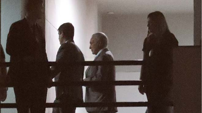 Arrestat l'expresident brasiler Michel Temer per corrupció