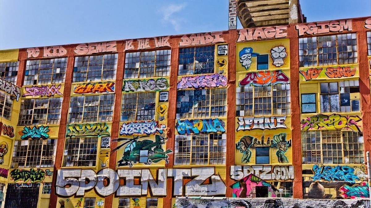 El edificio neoyorquino 5Pointz, en Nueva York.