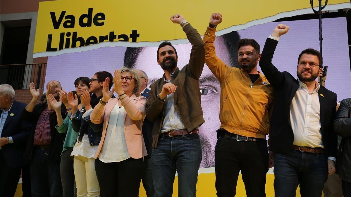 """ERC acusa al PSOE de ser la """"muleta"""" de la extrema derecha"""