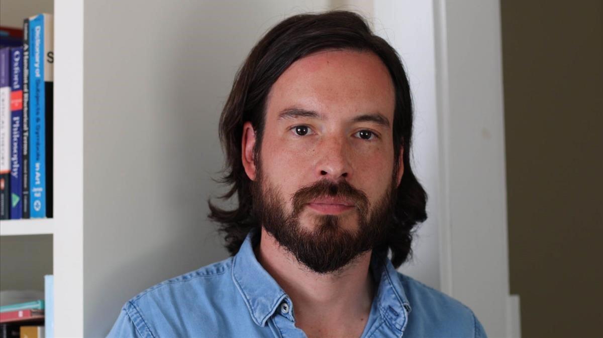 El escritor chileno Francisco Díaz Klaassen.