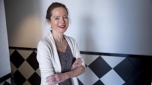 La escritora y periodista alemana Andrea Köhler, en Barcelona