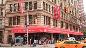 La famosa librería Strand de Nueva York.