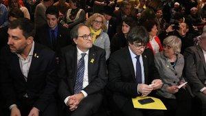 Puigdemont demana unitat entorn del Consell per la República