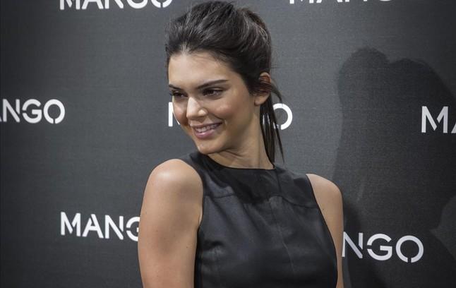Kendall Jenner, en la fiesta de Mango.
