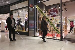 Les Arenes es convertirà en un centre comercial sensoritzat per a persones amb discapacitat visual
