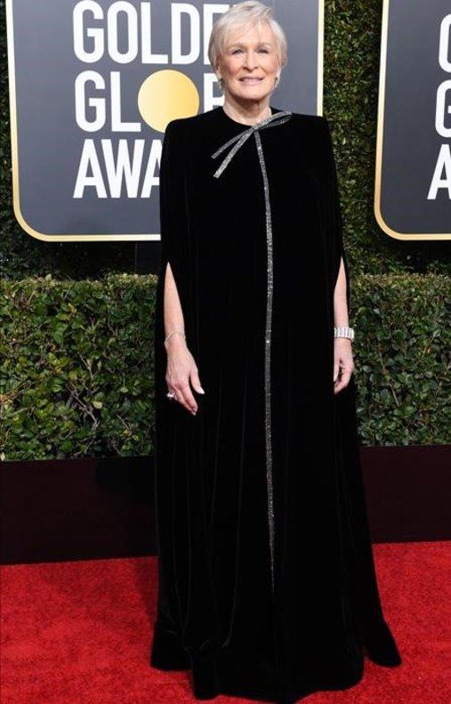 Glenn Close, con vestido de Armani Privé.