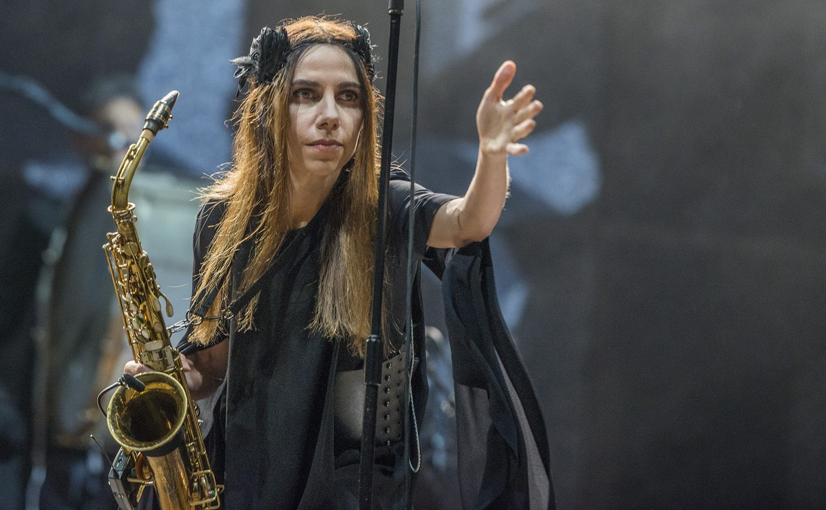 PJ HARVEY en el Parc de Forum