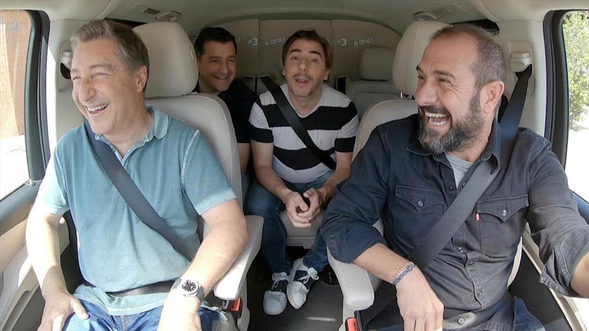 'Al cotxe!' es posa a rodar per Catalunya