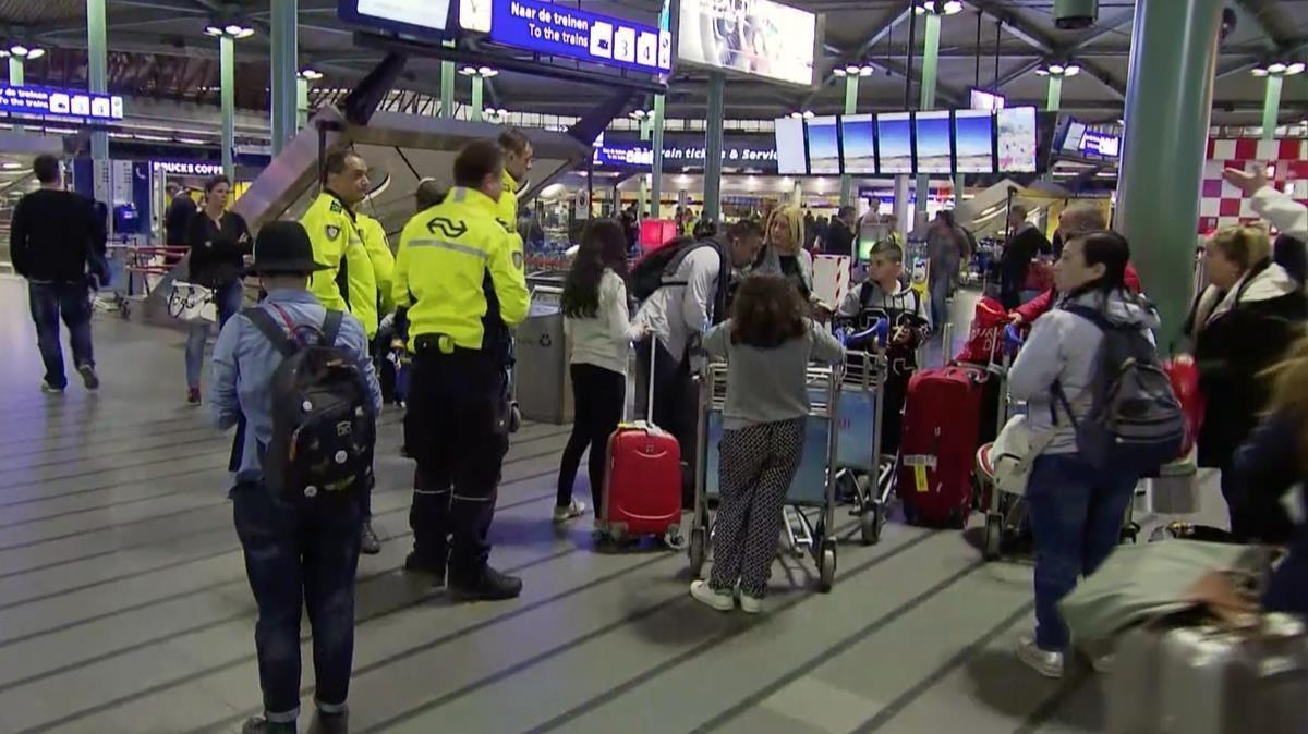 Imagen de archivo del aeropuerto de Schiphol.
