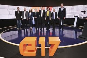 Imagen del debate electoral de TV-3.
