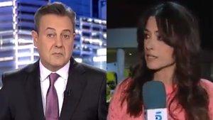 """La seguretat de l'Hospital 12 de Octubre interromp un directe de Telecinco: «Ha sigut desagradable"""""""