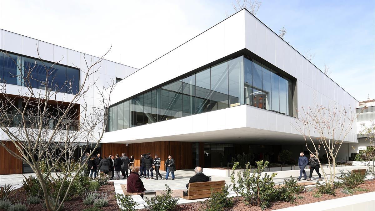 Instalaciones del nuevo tanatorio de Sancho de Ávila.