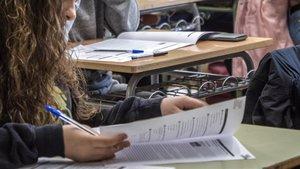 Pruebas de competencias básicas de 4ºde ESO en un instituto