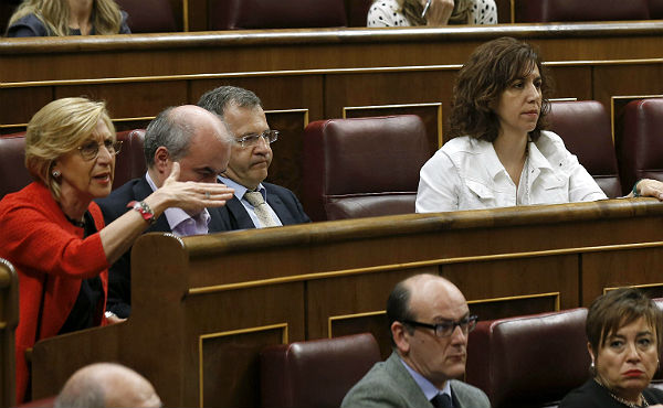 La intervención de Irene Lozano (UPD) en el Congreso sobre el caso de la capitana Zaida Cantera.